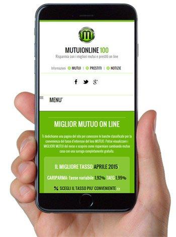 Versione mobile 2015 Mutuionline 100